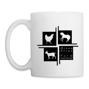 Coffee Mug 4square Logo - Black - Coffee/Tea Mug