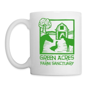 Coffee Mug - Green Logo - Coffee/Tea Mug