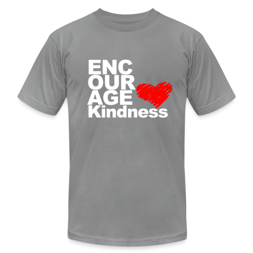 Kindness with Heart - Unisex Tee - Men's Fine Jersey T-Shirt