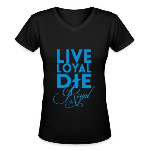 royal - Women's V-Neck T-Shirt