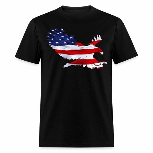 Eagle USA Flag T-endureiowa.org - Men's T-Shirt
