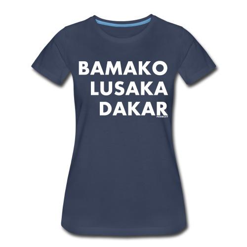 POOR CITY - Women's Premium T-Shirt