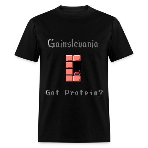 Castlevania Parody T: Gainslevania - Men's T-Shirt