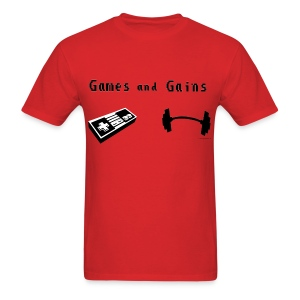 Game and Train  - Men's T-Shirt