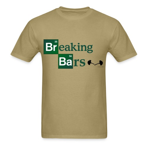 Breaking Bad Gym Parody T - Men's T-Shirt