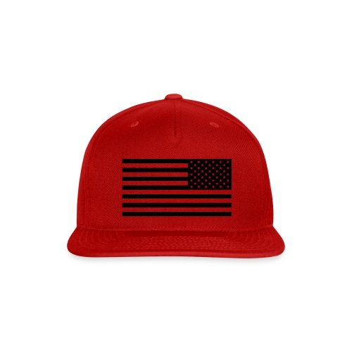 American Flag Tactical Subdued - Snap-back Baseball Cap