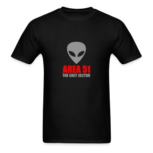 AREA 51 Grey Sector - Men's T-Shirt