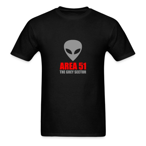 AREA 51 Grey Sector - Men's T-Shirt