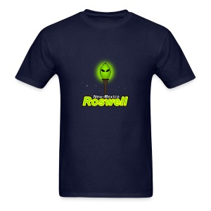 Street lights in Roswell - Men's T-Shirt