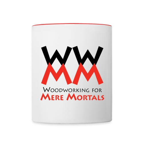 WWMM Logo mug - Contrast Coffee Mug