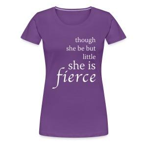 Fierce Women's Premium T-Shirt - Women's Premium T-Shirt