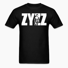 Zyzz Stand Text T-Shirt