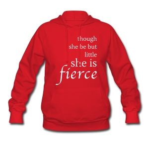 Fierce Women's Hooded Sweatshirt - Women's Hoodie