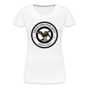Dinosaur Appreciation Society: Novaraptor - Women's Premium T-Shirt