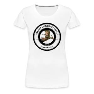 Dinosaur Appreciation Society: Pteranodon - Women's Premium T-Shirt
