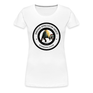 Dinosaur Appreciation Society: Dilophosaurus - Women's Premium T-Shirt