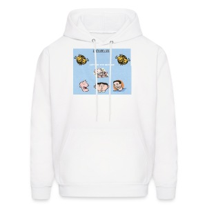 LEFT ON THE OUTSIDE men's hooded sweatshirt - Men's Hoodie