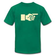 T-Shirts ~ Men's T-Shirt by American Apparel ~ Article 15827258