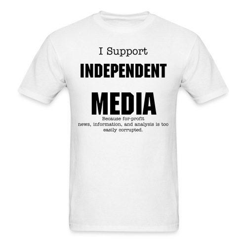 Indy-Media-BT-Mens - Men's T-Shirt