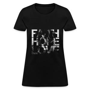 Faith Hope Love Lion - Women's T-Shirt