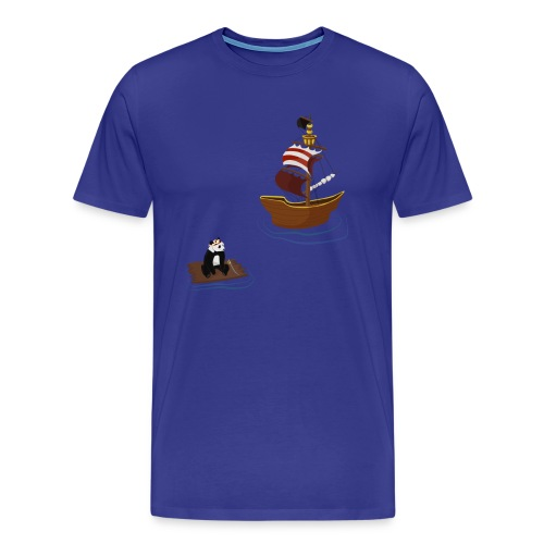 Lost at Sea (Unisex) - Men's Premium T-Shirt