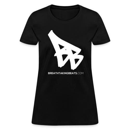 Woman Breathtaking Beats Shirt Black - Women's T-Shirt