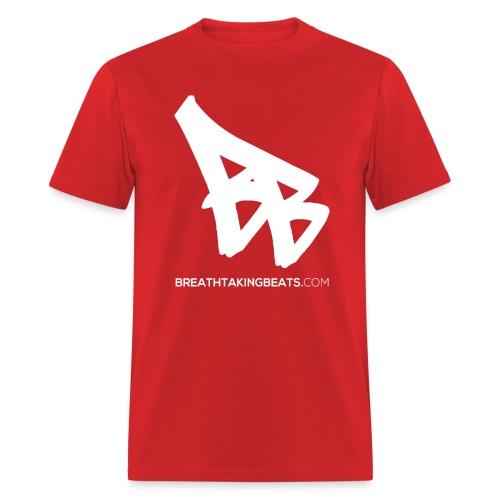 Men Breathtaking Beats Shirt Red - Men's T-Shirt