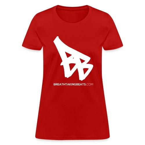 Woman Breathtaking Beats Shirt Red - Women's T-Shirt