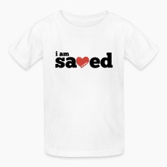 I am Saved by Jesus Kids' T-Shirt