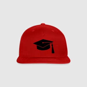 graduation hat v2 Caps - Snap-back Baseball Cap