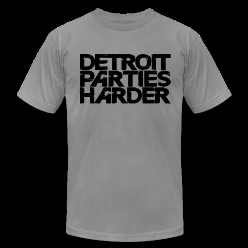Men's  Jersey T-Shirt - DETROIT PARTIES HARDER