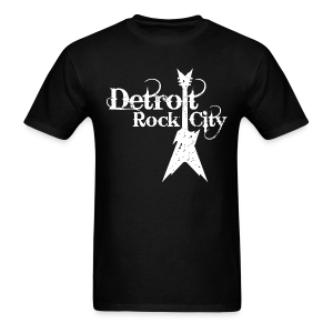 DETROIT ROCK CITY white - Men's T-Shirt