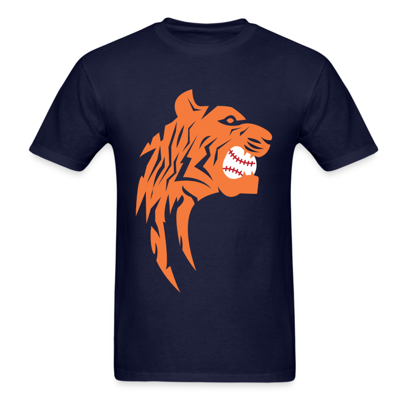 Detroit Tigers Baseball - Men's T-Shirt