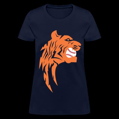 Detroit Tigers Baseball - Women's T-Shirt