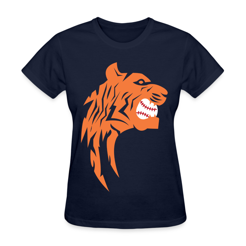 Detroit Tigers Baseball - Women's T-Shirt
