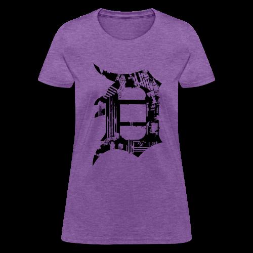 Detroit Grunge - Women's T-Shirt