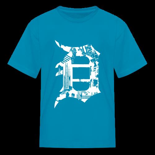 Detroit Grunge kids - Kids' T-Shirt