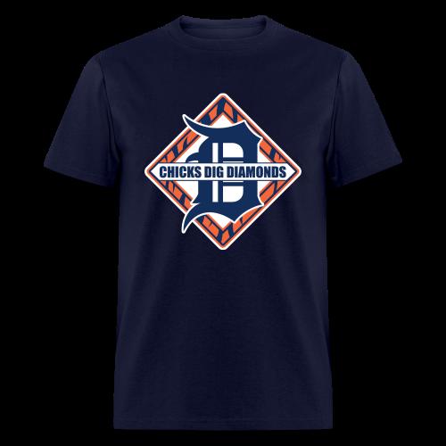 Chicks Dig Diamonds - Men's T-Shirt