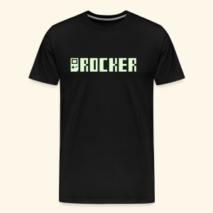 GB_Rocker (Glow in the dark, free shirtcolor selection) - Men's Premium T-Shirt