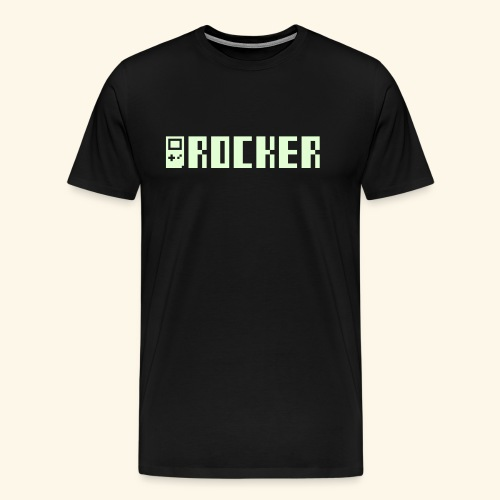 GB_Rocker (Glow in the dark, free shirtcolor selection) - Men's Premium T-Shirt