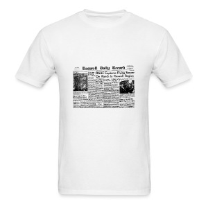 UFO Roswell Daily Record - Men's T-Shirt