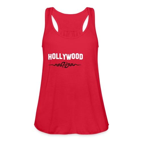 HollyWood - Women's Flowy Tank Top by Bella