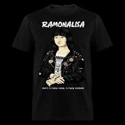 Ramonalisa she's a punk punk, a punk rocker Humor - comedy - funny - satirical - meme - joke