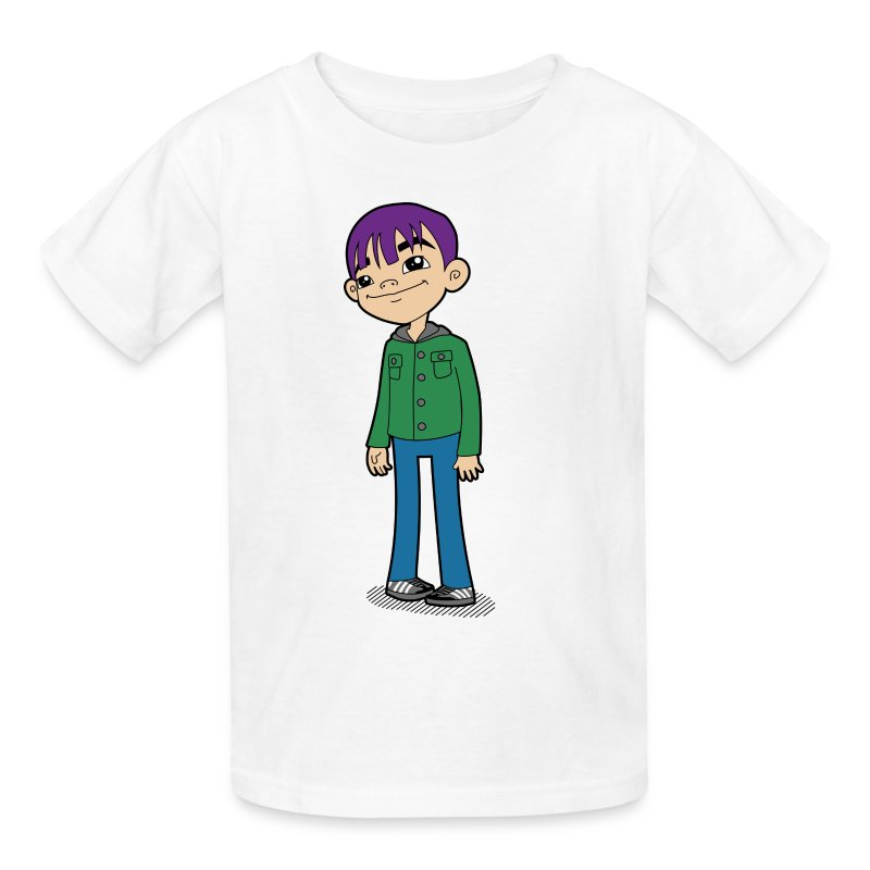 auto_Shirt_6color_v01.png - Kids' T-Shirt