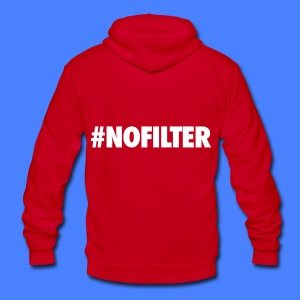 #NOFILTER Zip Hoodies & Jackets - Unisex Fleece Zip Hoodie by American Apparel
