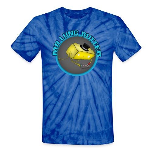 Lung Butter Logo #1 - Tye-Dye Shirt! - Unisex Tie Dye T-Shirt