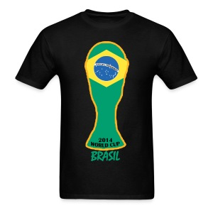 Brazil World Cup 2014 Trophy Shirt - Men's T-Shirt