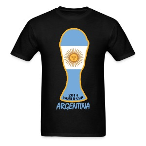 Argentina World Cup 2014 Trophy Shirt - Men's T-Shirt