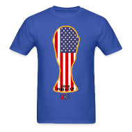 T-Shirts ~ Men's T-Shirt ~ USA World Cup 2014 Trophy Shirt
