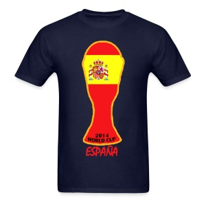Spain World Cup 2014 Trophy Shirt - Men's T-Shirt